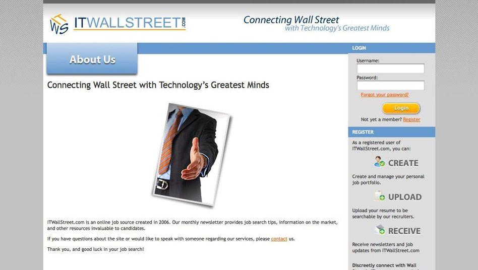 Screenshot von IT Wall Street: Verbindet die Wall Street mit den klügsten Köpfen der IT