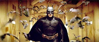 Filmheld Batman: Verschmelzen mit der Urangst