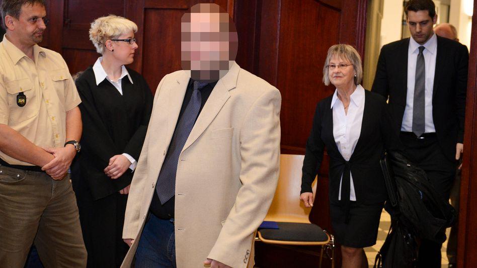 Angeklagter Ulvi K.: In Wiederaufnahmeverfahren freigesprochen
