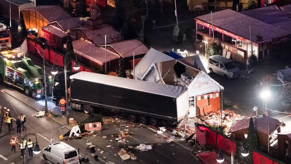 Anschlag am Breitscheidplatz (Archivbild): Anis Amri tötete zwölf Menschen