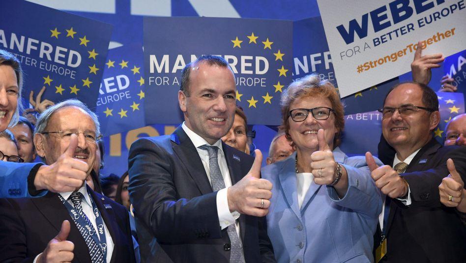 EVP-Spitzenkandidat Weber