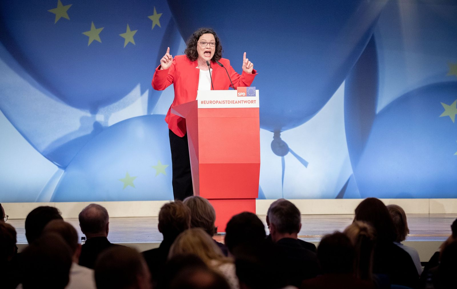 Andrea Nahles/ Europakonvent der SPD