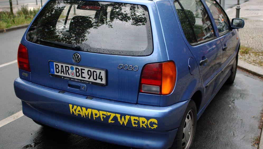 """Studie zu Autoaufklebern: """"Kein Balg mit scheiß Namen on Board"""""""