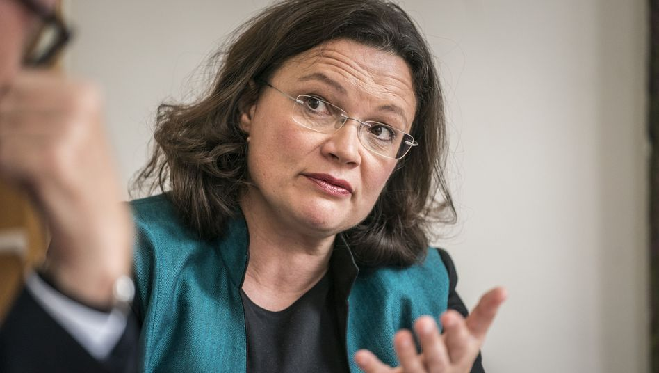 Nahles am 27.9.2017 in Berlin