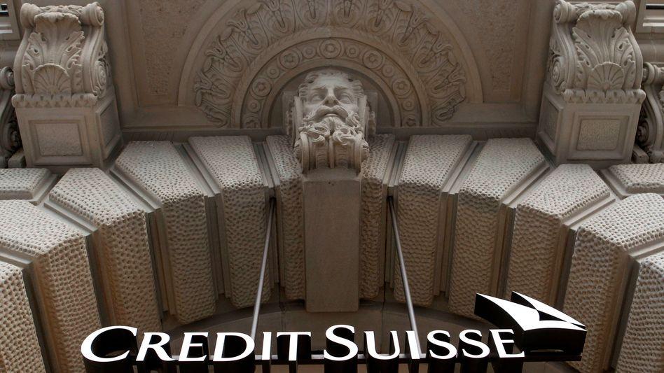 Credit-Suisse-Zentrale in Zürich: Reihe von Sofortmaßnahmen
