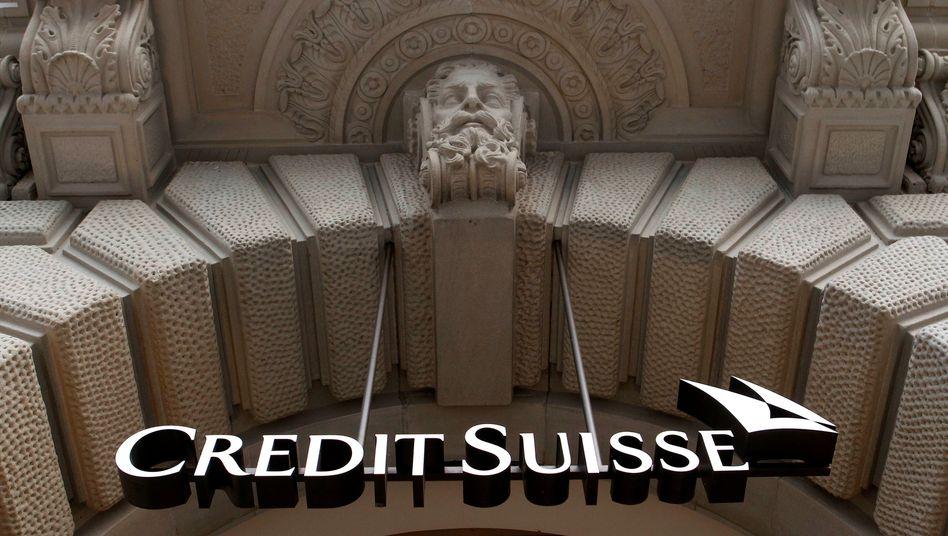 Logo der Crédit Suisse (Archivbild)
