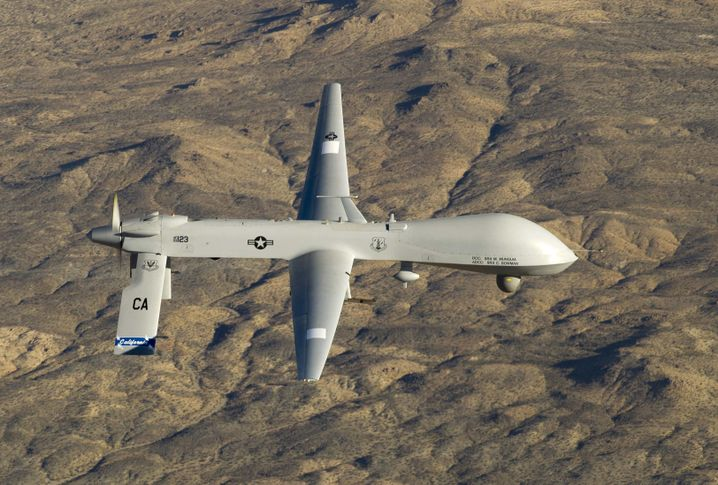 Predator-Drohne: Luftschläge trotz dichter Wolkendecke?