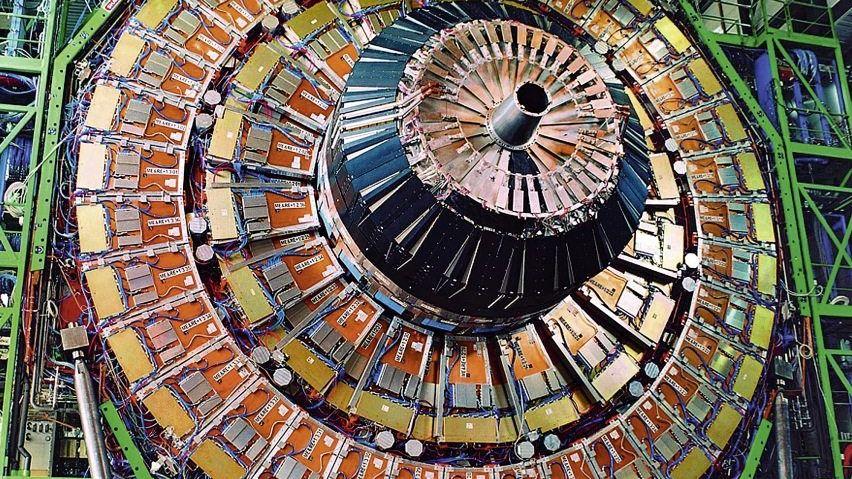 Teilchen-Detektor am Cern