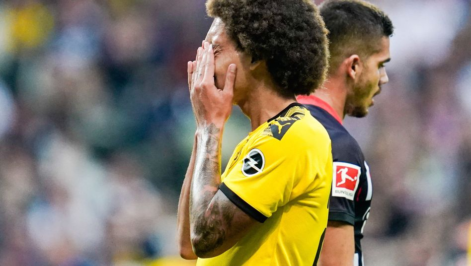 Dortmund spielte am Ende nur 2:2 gegen Frankfurt