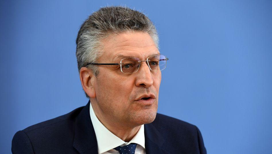 Präsident des Robert Koch-Instituts Lothar Wieler