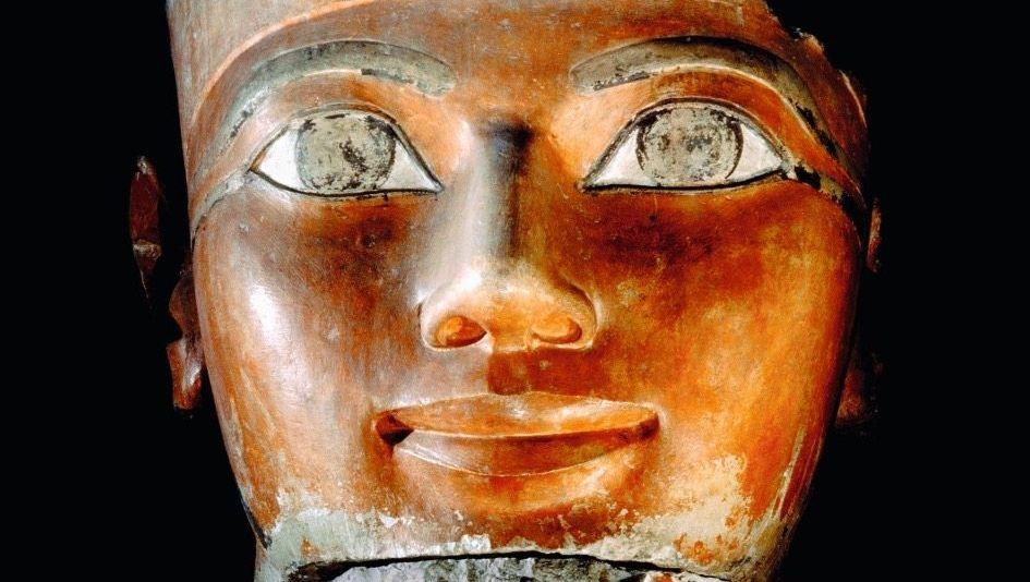 Wohlgeformt: Skulptur des Gesichts von Kauserin Hatschepsut.