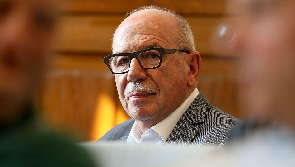 Heribert Schwan im Gerichtssaal
