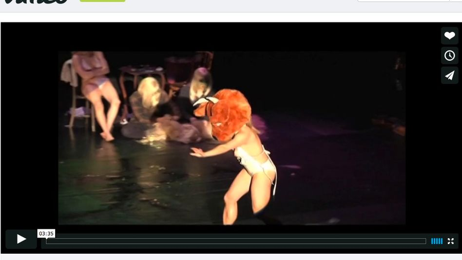 Theater vimeo nackt performance Naked Theatre