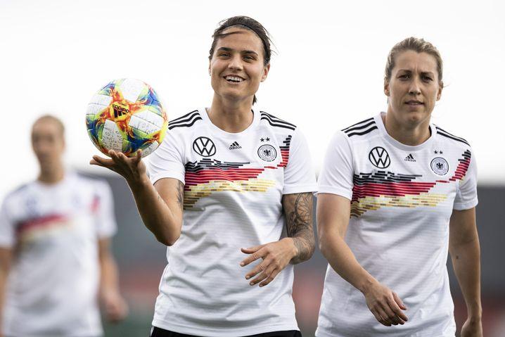 Dszenifer Maroszán wurde 2017 und 2018 zu Deutschlands Fußballerin des Jahres gewählt