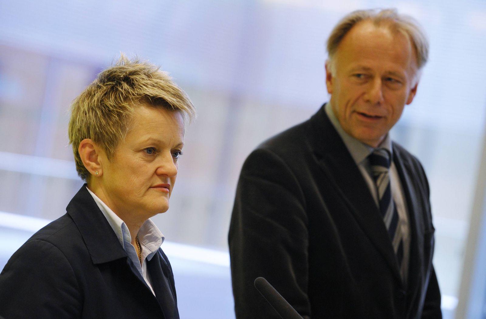 NICHT VERWENDEN Renate Künast und Jürgen Trittin