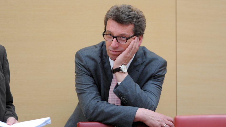CSU-Fraktionsvorsitzender Schmid: Rücktritt erklärt