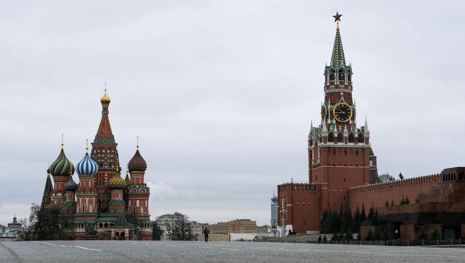 Kreml in Moskau: Wie groß ist der direkte Einfluss in Libyen wirklich?