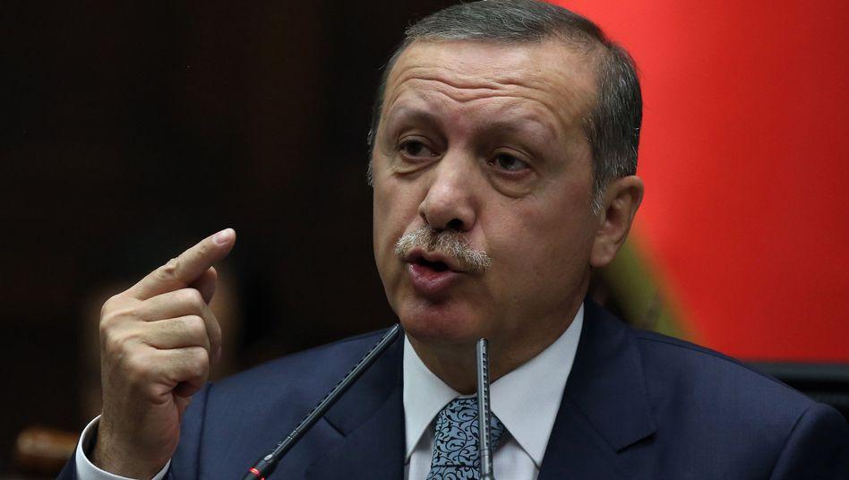 """Türkischer Premierminister Erdogan: """"Noch nie dagewesener Skandal"""""""