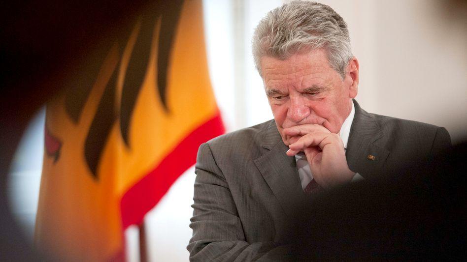 """Bundespräsident Gauck: """"Das rechte Maß von Freiheit, Sicherheit und Kontrolle"""""""