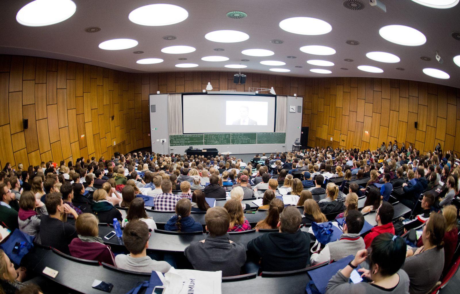 Hörsal Uni Hannover