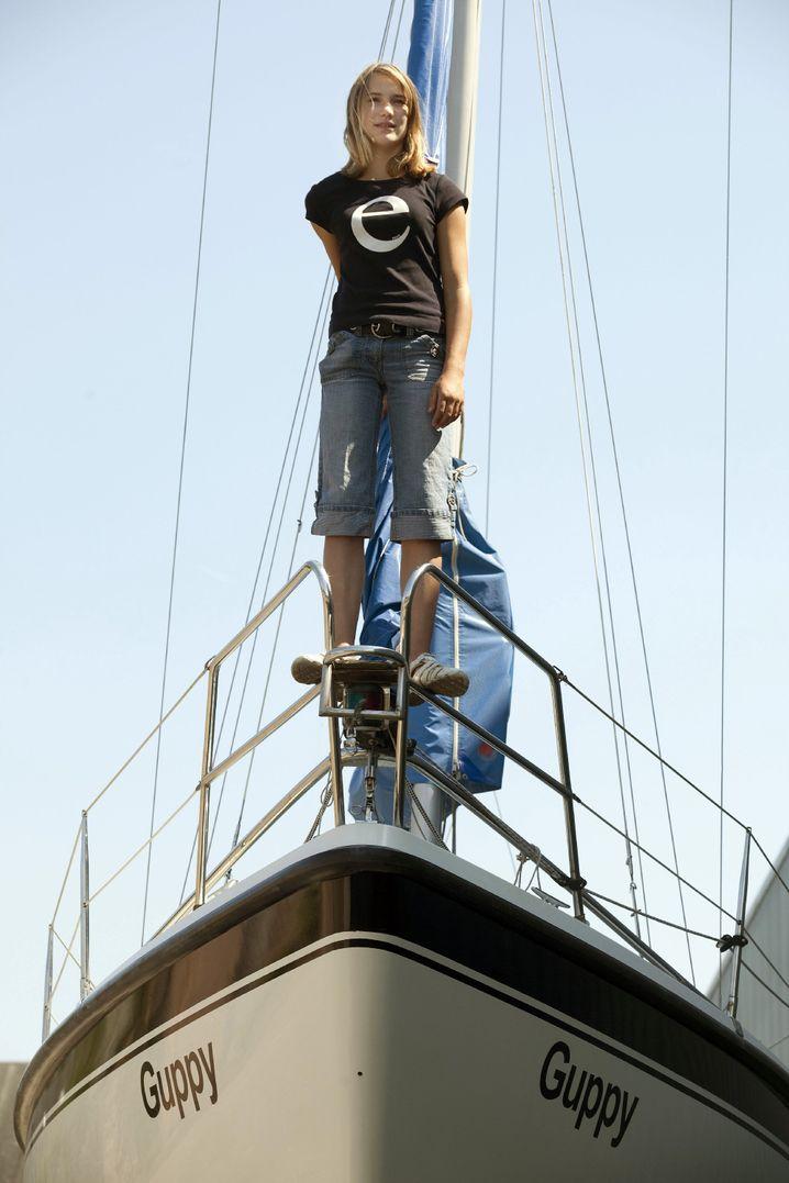 Seglerin Dekker: Als jüngster Mensch allein um die Welt in einem Segelboot
