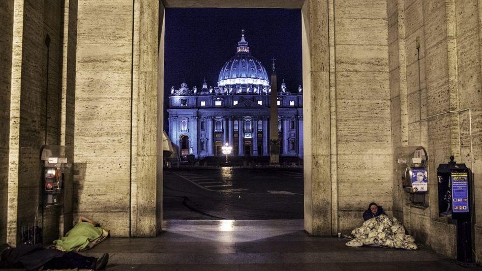 Obdachlose vor dem Petersdom: »Diese Stadt krankt vor allem an mangelndem Bürgersinn«