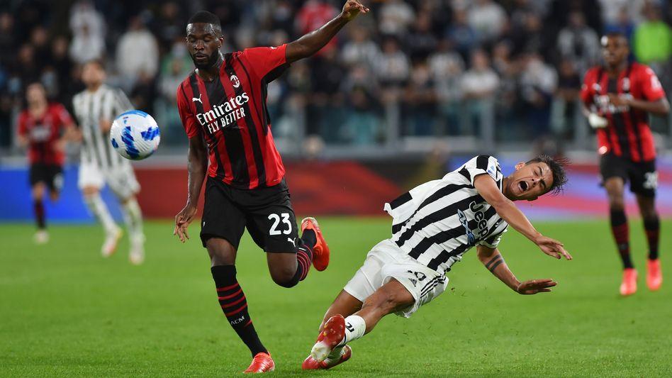 Paulo Dybala (r.) konnte mit Juventus schon wieder nicht gewinnen
