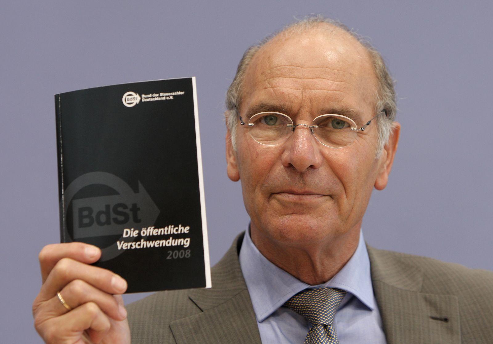 Däke / Bund der Steuerzahler / Schwarzbuch