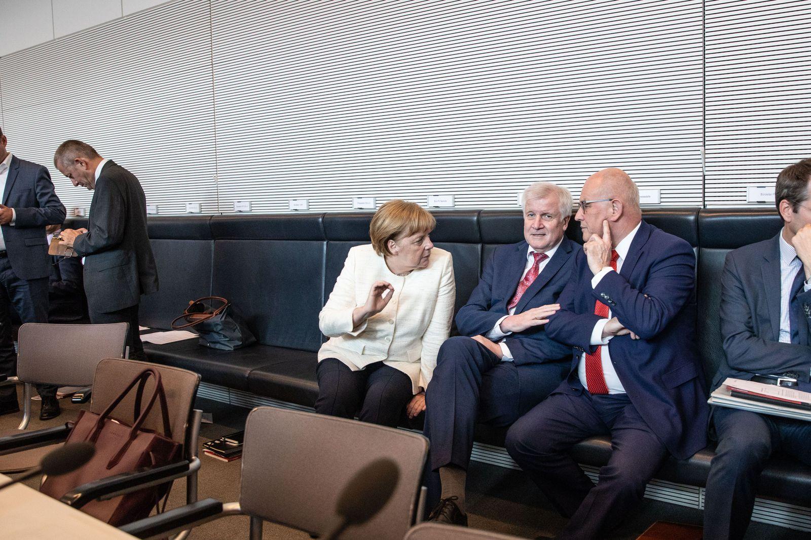 Merkel/ Seehofer/ Kauder