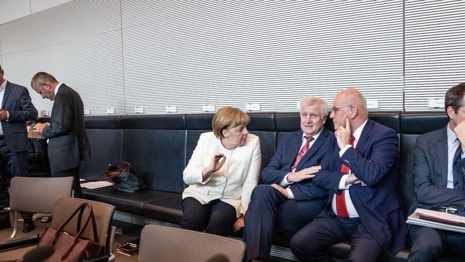 Merkel, Seehofer, Kauder