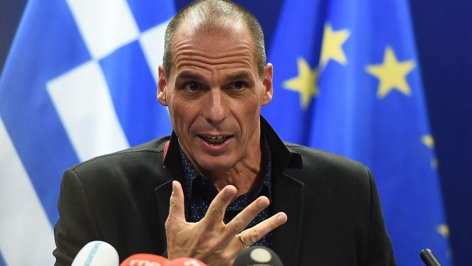 """Griechischer Finanzminister Varoufakis: """"Wir wollen einen neuen Vertrag"""""""
