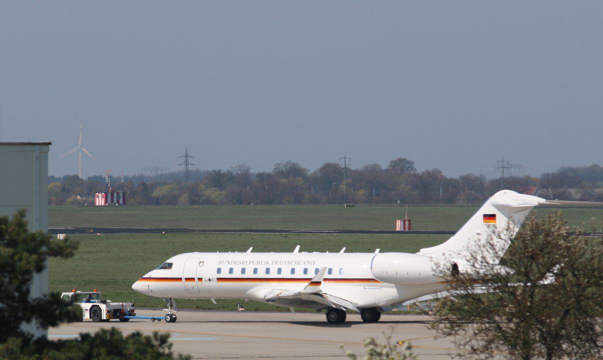 Schönefeld/ defekter Jet