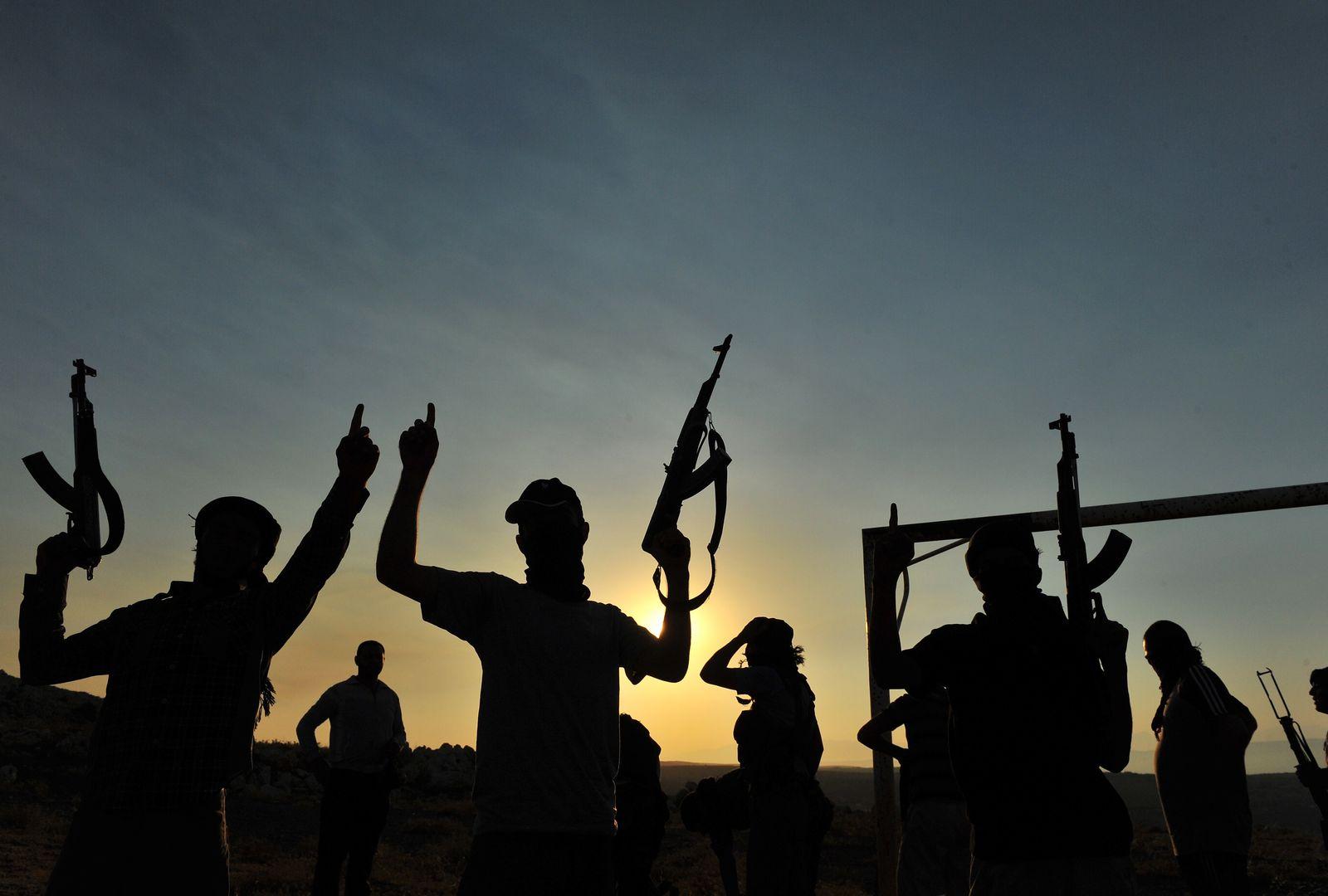 syrien dschihad schatten