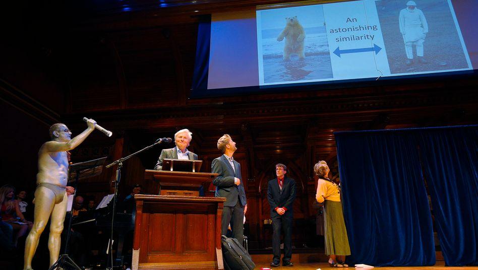 Preisverleihung 2014: Die traditionell schrille Gala fiel in diesem Jahr wegen der Coronapandemie aus