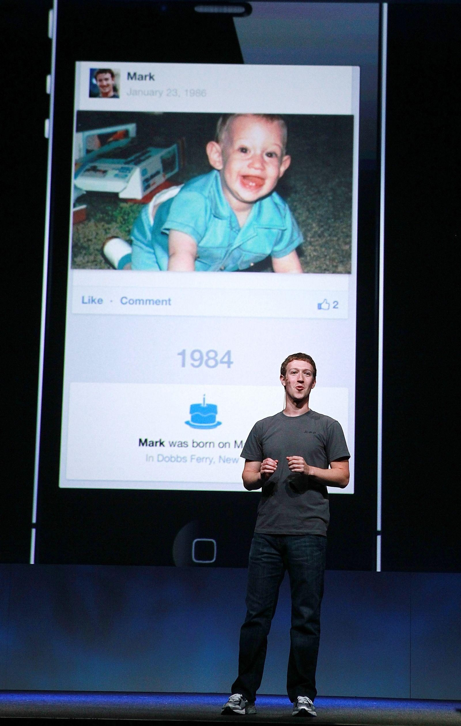 Zuckerberg/F8/Facebook/Timeline