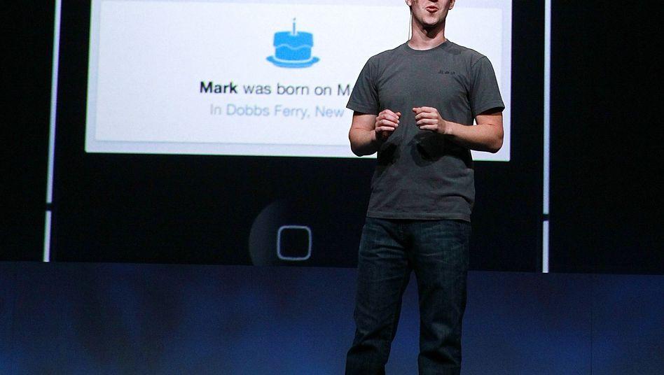 """Facebook-Chef Mark Zuckerberg vor eigener Facebook-Timeline: Immer öfter dokumentieren """"Sharents"""" das Leben ihrer Sprösslinge online"""