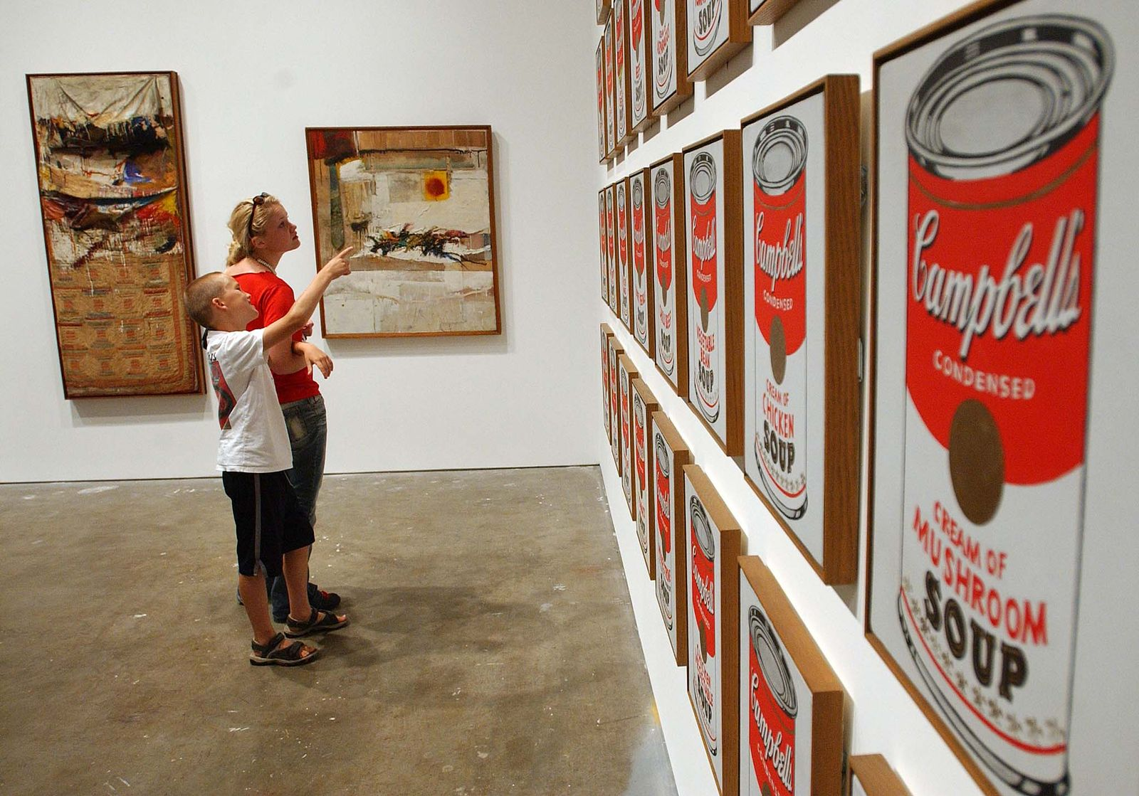 KaSP Warhol Campbell's ART MOMA