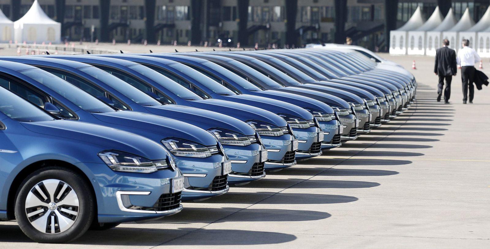 Volkswagen / e-Golf / Elektroauto