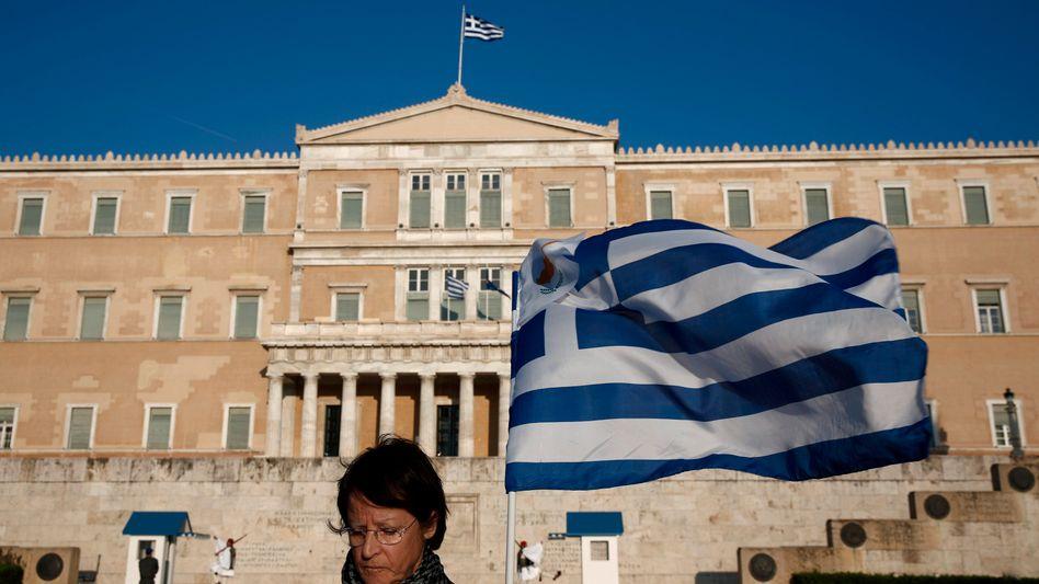 """Parlamentsgebäude in Athen: """"Wir haben sehr hart gearbeitet"""""""