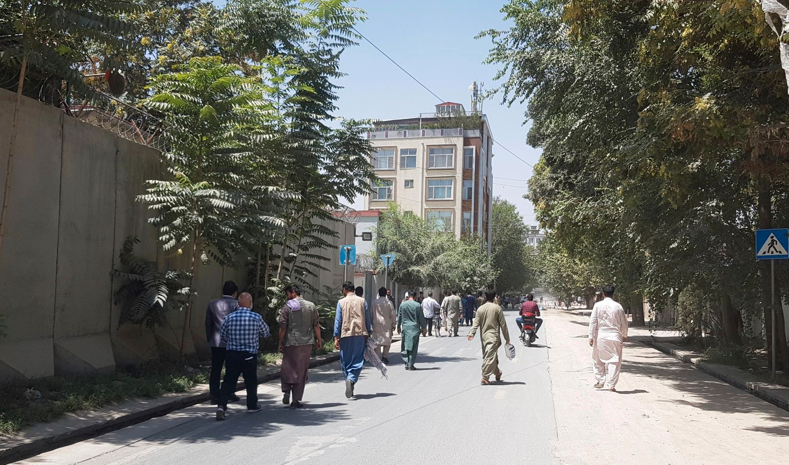 Taliban begins to enter outskirts of Afghanistan's capital Kabul