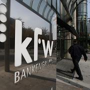 "KfW-Zentrale (in Frankfurt): ""'Dumm Banker' in der Chefetage"""