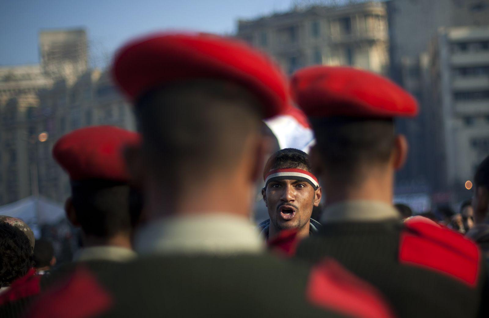 Ägypten / Proteste / 13.02.11