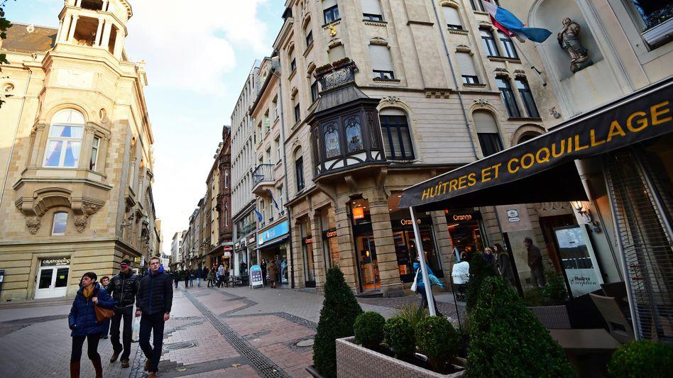 Innenstadt von Luxemburg