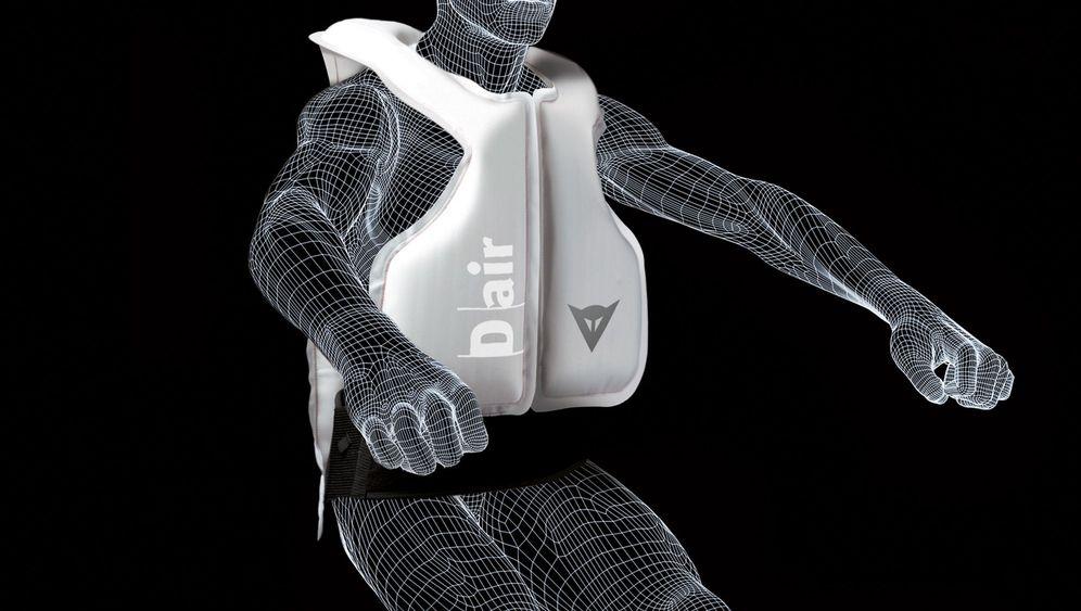 Motorrad-Airbag: Sicherheit hat ihren Preis