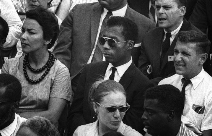 "James Baldwin im Dokumentarfilm ""I Am Not Your Negro"""
