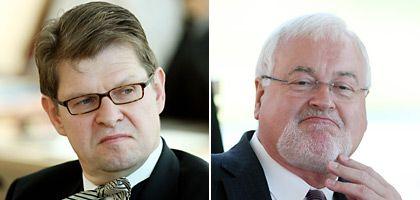 Politiker Stegner, Carstensen: Vorzeitiges Koalitions-Aus