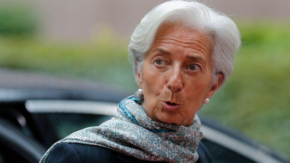 IWF-Chefin Lagarde: Lästige Altlasten in Paris