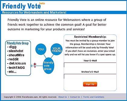 """Friendly Vote: """"Bessere Marketing-Ergebnisse!"""""""