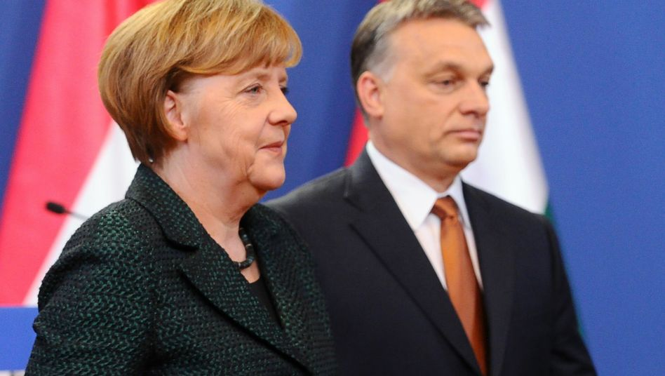 Angela Merkel, Viktor Orbán