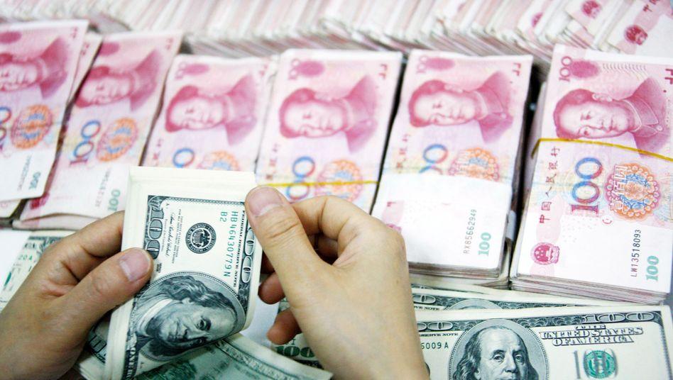 Dollar gegen Yuan: Seit Jahren streiten die USA und China um den Wechselkurs